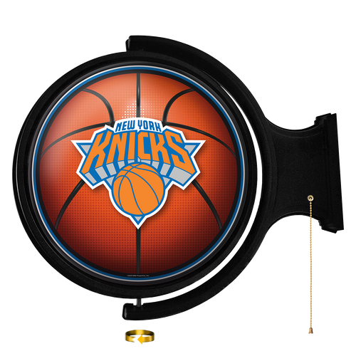 New York Knicks: Basketball - Original Round Rotating Lighted Wall Sign