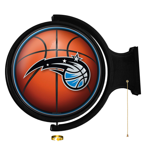 Orlando Magic: Basketball - Original Round Rotating Lighted Wall Sign - The Fan-Brand