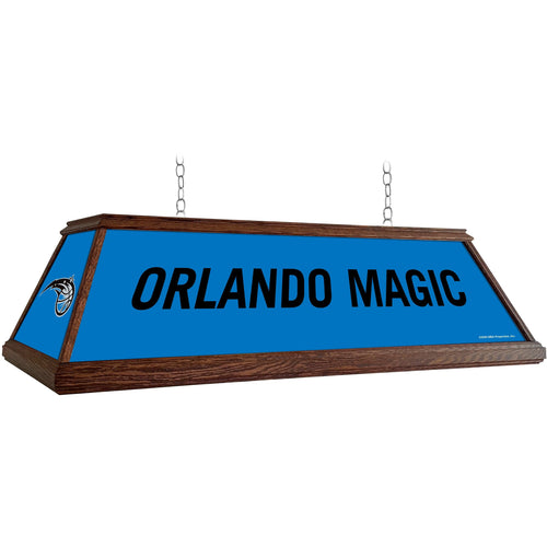 Orlando Magic: Premium Wood Pool Table Light - The Fan-Brand