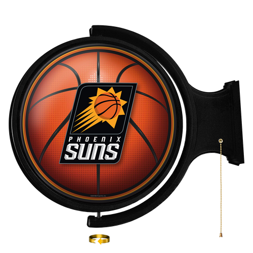 Phoenix Suns: Basketball - Original Round Rotating Lighted Wall Sign
