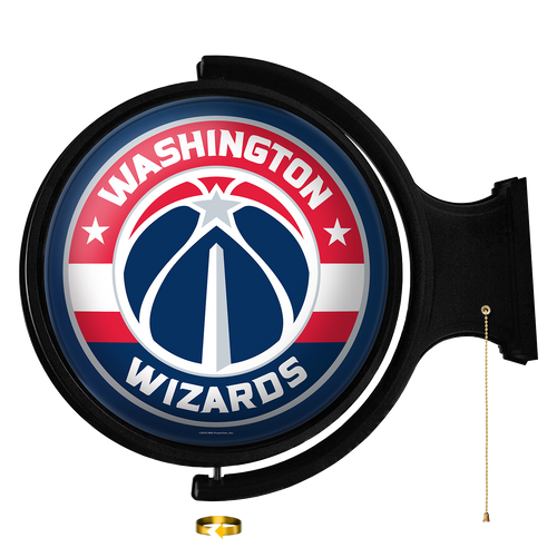 Washington Wizards: Original Round Rotating Lighted Wall Sign