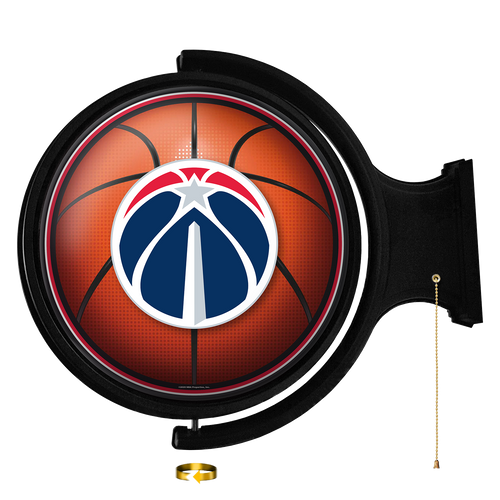 Washington Wizards: Basketball - Original Round Rotating Lighted Wall Sign