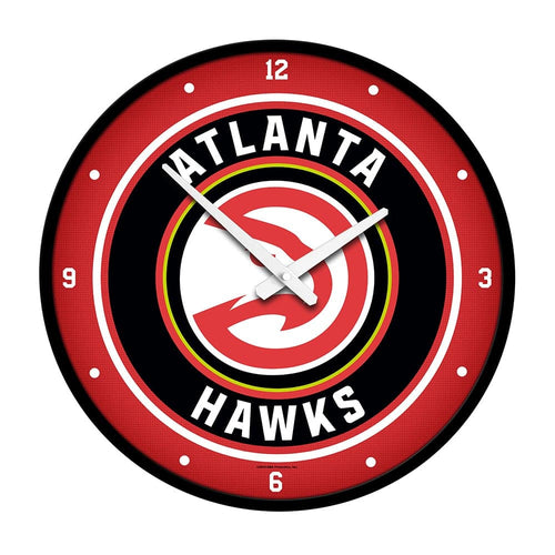 Atlanta Hawks: Modern Disc Wall Clock - The Fan-Brand