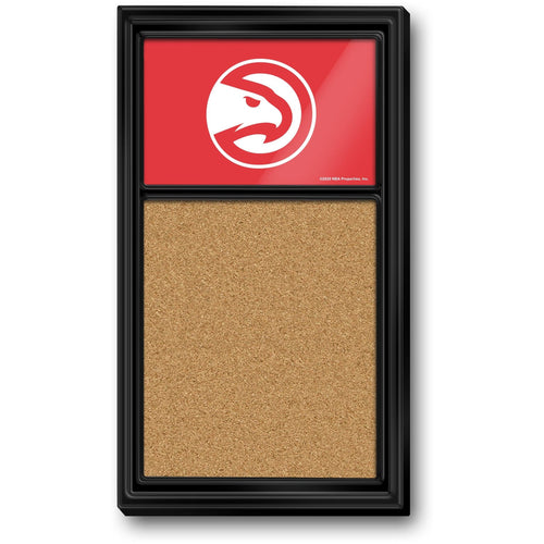 Atlanta Hawks: Cork Note Board - The Fan-Brand