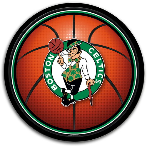 Boston Celtics: Basketball - Modern Disc Wall Sign - The Fan-Brand