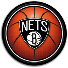 Load image into Gallery viewer, Brooklyn Nets: Basketball - Modern Disc Wall Sign