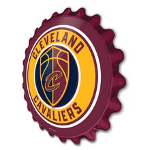 Load image into Gallery viewer, Cleveland Cavaliers: Bottle Cap Wall Sign