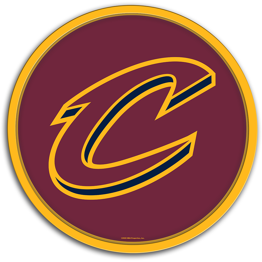 Cleveland Cavaliers: Modern Disc Wall Sign