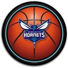 Load image into Gallery viewer, Charlotte Hornets: Basketball - Modern Disc Wall Sign