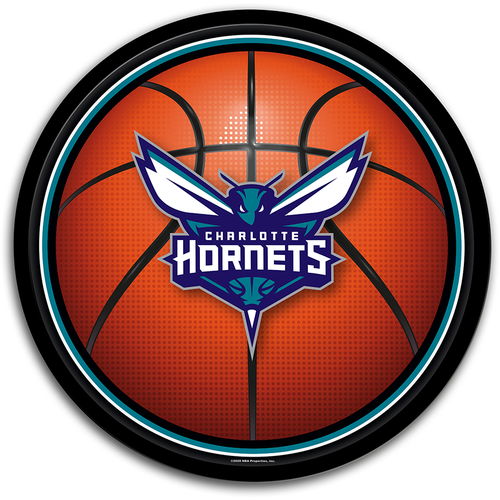 Charlotte Hornets: Basketball - Modern Disc Wall Sign