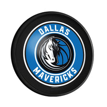 Load image into Gallery viewer, Dallas Mavericks: Round Slimline Lighted Wall Sign - The Fan-Brand