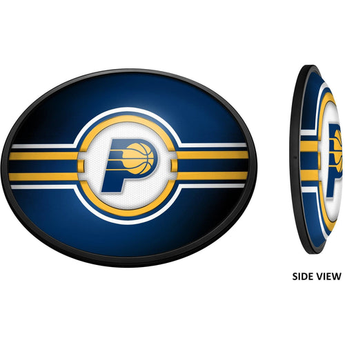 Indiana Pacers: Oval Slimline Lighted Wall Sign