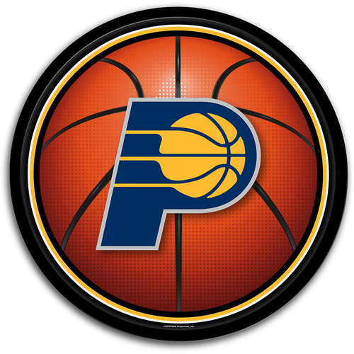 Indiana Pacers: Basketball - Modern Disc Wall Sign