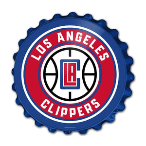 Los Angeles Clippers: Bottle Cap Wall Sign