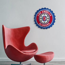 Load image into Gallery viewer, Los Angeles Clippers: Bottle Cap Wall Sign