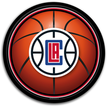 Load image into Gallery viewer, Los Angeles Clippers: Basketball - Modern Disc Wall Sign
