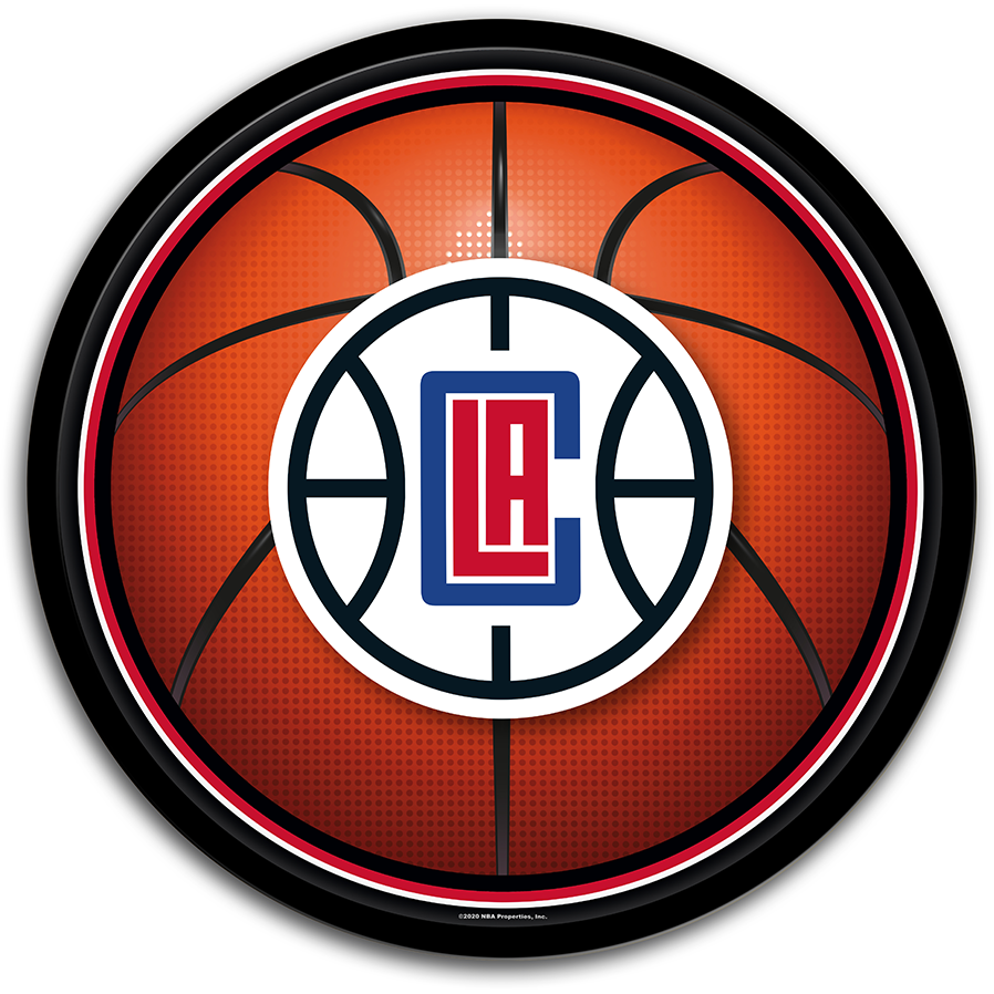 Los Angeles Clippers: Basketball - Modern Disc Wall Sign