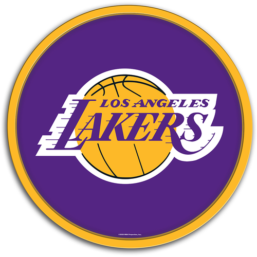 Los Angeles Lakers: Modern Disc Wall Sign
