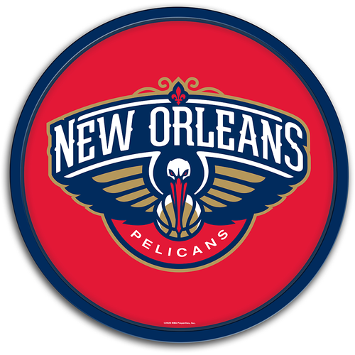 New Orleans Pelicans: Modern Disc Wall Sign - The Fan-Brand