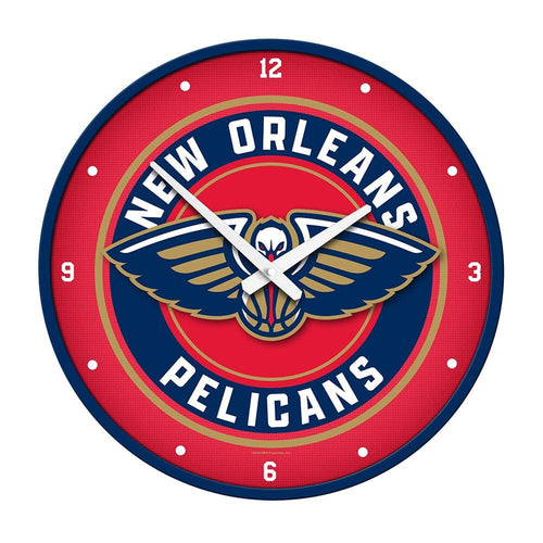 New Orleans Pelicans: Modern Disc Wall Clock - The Fan-Brand