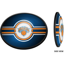 Load image into Gallery viewer, New York Knicks: Oval Slimline Lighted Wall Sign