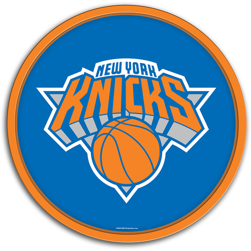 New York Knicks: Modern Disc Wall Sign