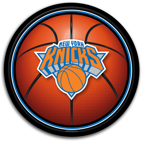 New York Knicks: Basketball - Modern Disc Wall Sign