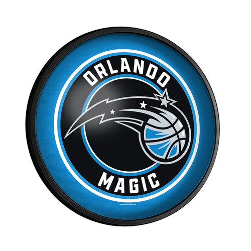 Orlando Magic: Round Slimline Lighted Wall Sign - The Fan-Brand