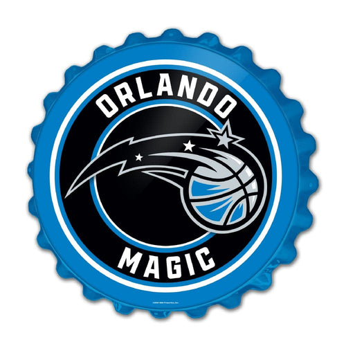 Orlando Magic: Bottle Cap Wall Sign - The Fan-Brand