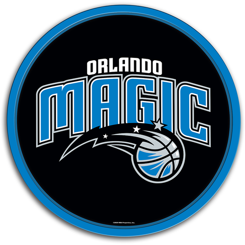 Orlando Magic: Modern Disc Wall Sign - The Fan-Brand