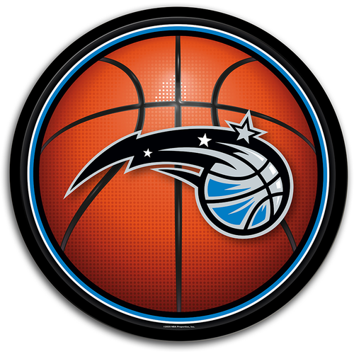 Orlando Magic: Basketball - Modern Disc Wall Sign - The Fan-Brand