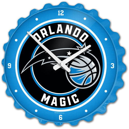 Orlando Magic: Bottle Cap Wall Clock - The Fan-Brand