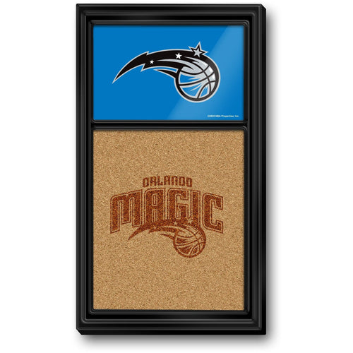 Orlando Magic: Dual Logo - Cork Note Board - The Fan-Brand
