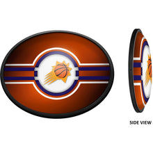 Load image into Gallery viewer, Phoenix Suns: Oval Slimline Illuminated Wall Sign