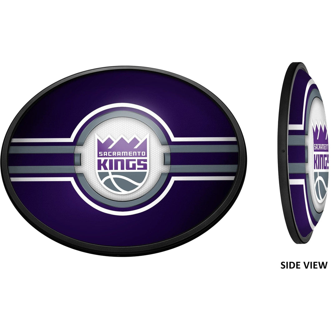 Sacramento Kings: Oval Slimline Illuminated Wall Sign