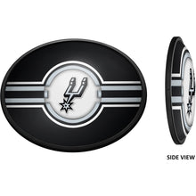 Load image into Gallery viewer, San Antonio Spurs: Oval Slimline Illuminated Wall Sign