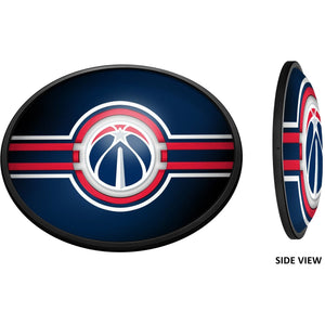 Washington Wizards: Oval Slimline Lighted Wall Sign