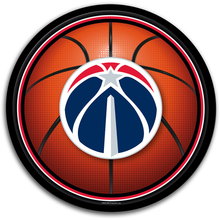 Load image into Gallery viewer, Washington Wizards: Basketball - Modern Disc Wall Sign