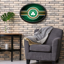 Load image into Gallery viewer, Boston Celtics: Oval Slimline Lighted Wall Sign
