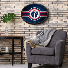 Load image into Gallery viewer, Washington Wizards: Oval Slimline Lighted Wall Sign