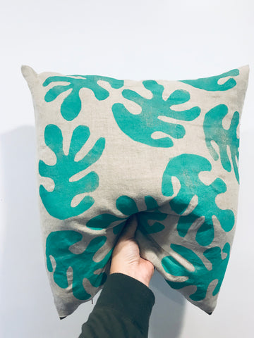Ola sea green sham