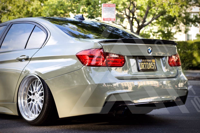 F30 F80 M3 Extended High Kick Trunk Lip