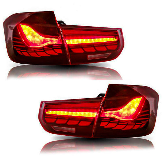 F80 M3 & F30 3 series Sequential OLED GTS style taillights