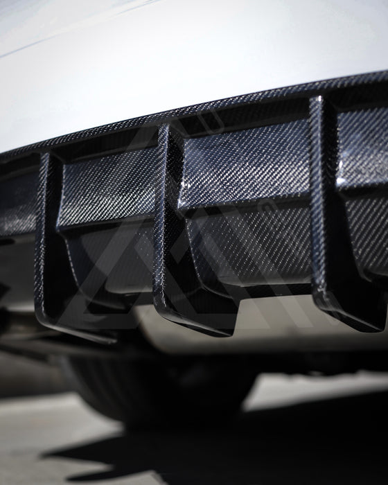 F30 AAC Carbon Fiber Signature Rear Diffuser