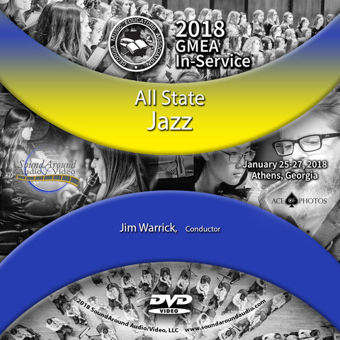 2018 GMEA In-Service:  All State Jazz Band