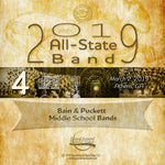 2019 All State - Group 4: Middle School Bands