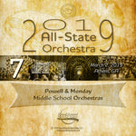 2019 All State - Group 7: Middle School Orchestras