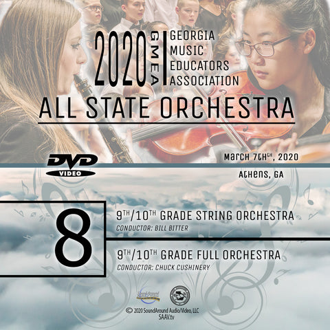 2020 All State Orchestra - Group 8: Both 9/10 Grade Orchestras