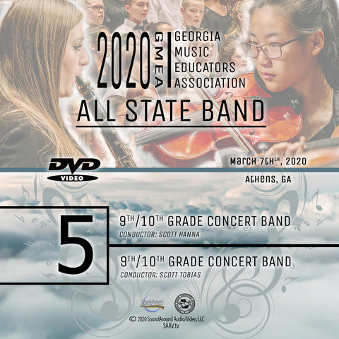 2020 All State Band - Group 5: Both 9/10 Concert Bands