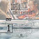 2020 All State Chorus - Group 1: Both Middle School Choirs